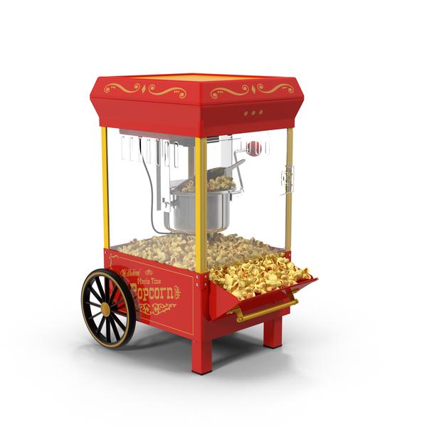 Nostalgia Popcorn Maker Object