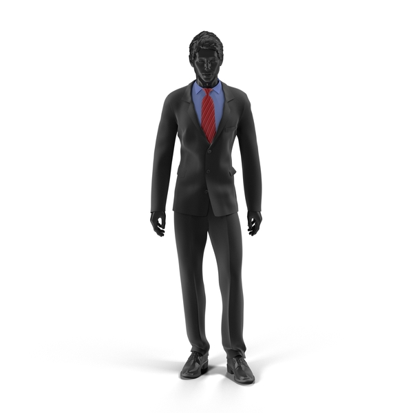 Showroom Mannequin Male In Business Suit Object