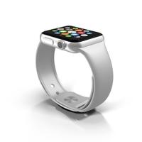 Apple Watch White Object