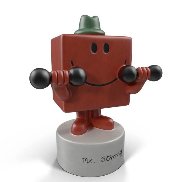 Mr. Strong Figurine Object