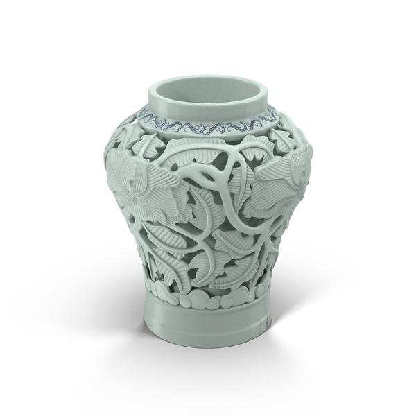 Porcelain Urn Object