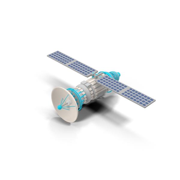 Cartoon Satellite Object