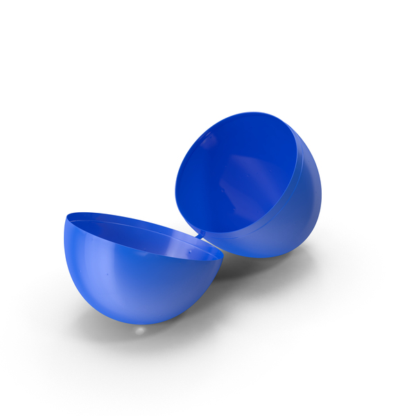Plastic Easter Egg Object