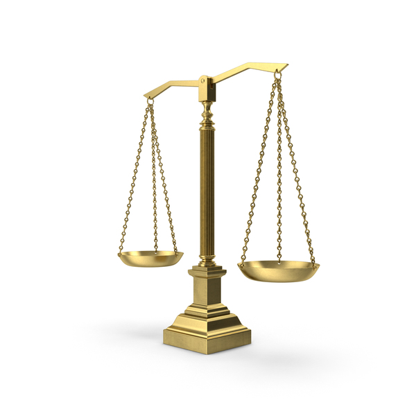 Scales Of Justice Object