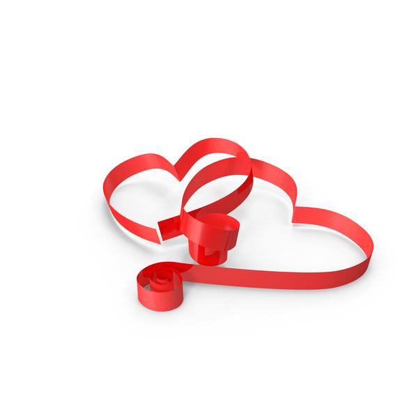 Ribbon Hearts Object