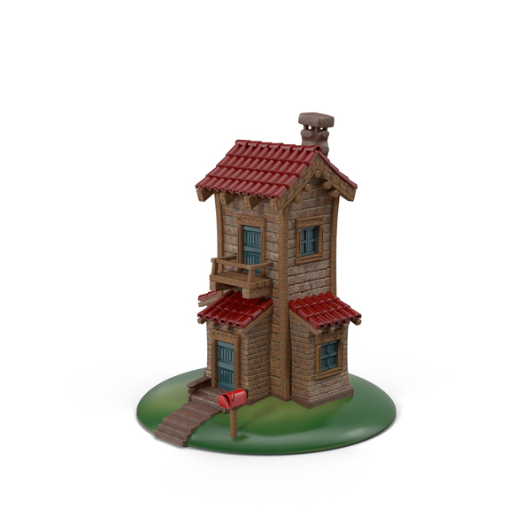Cartoon House Object