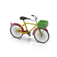 Cartoon Bicycle Object