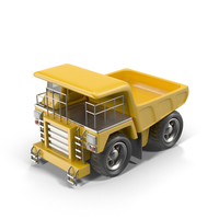 Cartoon Haul Truck Object