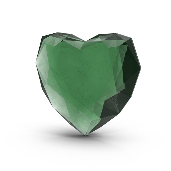 Emerald Heart Object