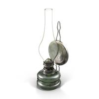 Oil Lamp Object