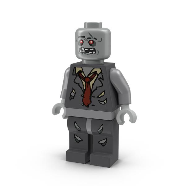 Lego Zombie Minifigure Object