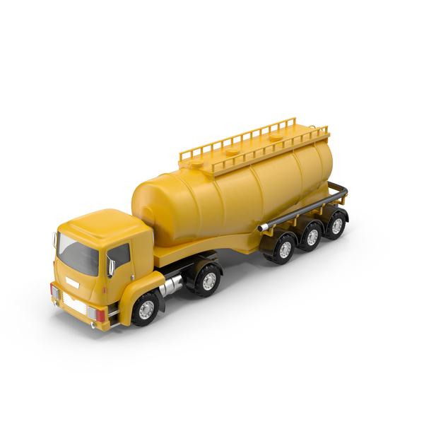 Cartoon Tanker Truck Object