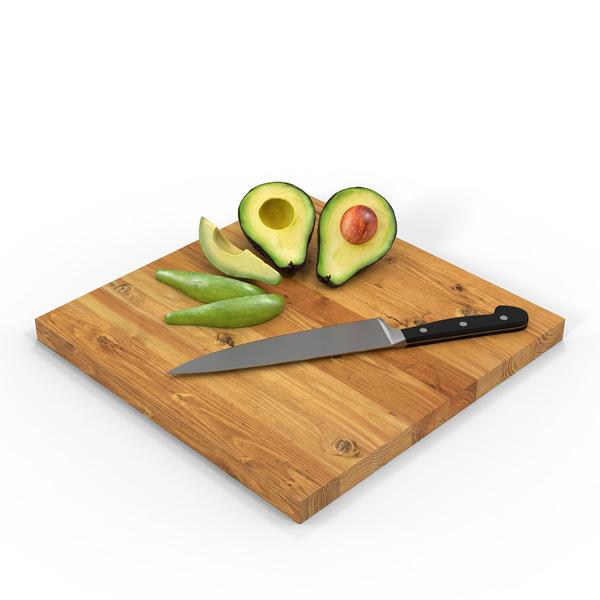 Cutting Avocado Object