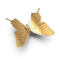 Golden Butterfly Object