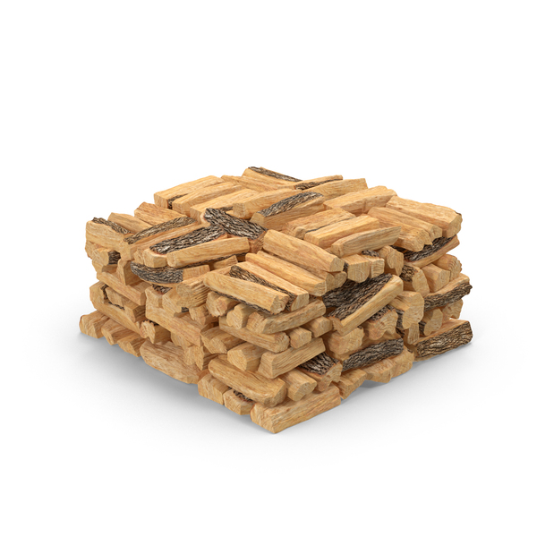Large Stack of Firewood Object