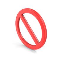 Ban Symbol Object