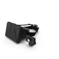 Virtual Reality Head-Mounted Display Object