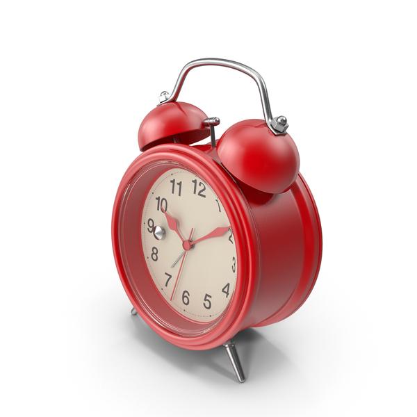 Red Alarm Clock Object