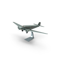 Plane Model on a Stand Object