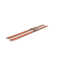 Snow Skis Object
