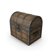 Old Wooden Chest Object