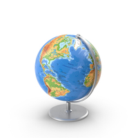 Globe on Stand Object