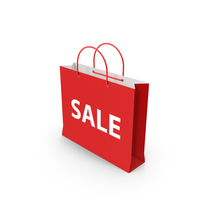 Sale Shopping Bag Object