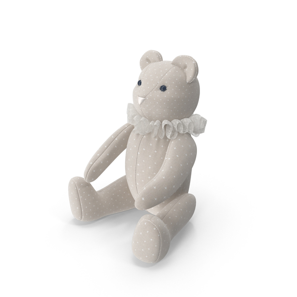 Beige Teddy Bear Object