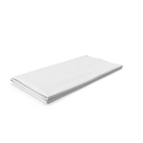 White Napkin  Object