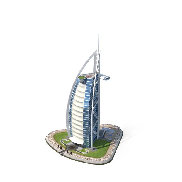 The Burj al Arab Object