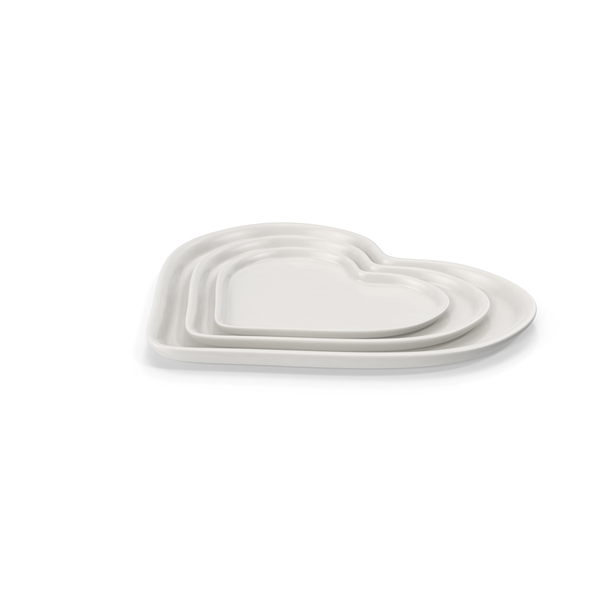 Heart Plate Set Object