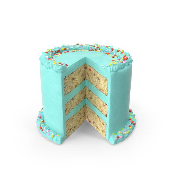 Confetti Cake Object
