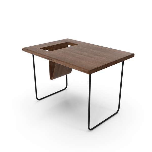 Modern Wooden Table Object