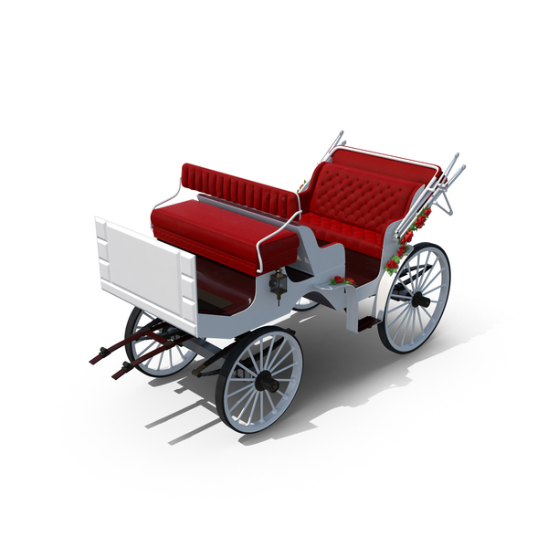 Wedding Carriage Object