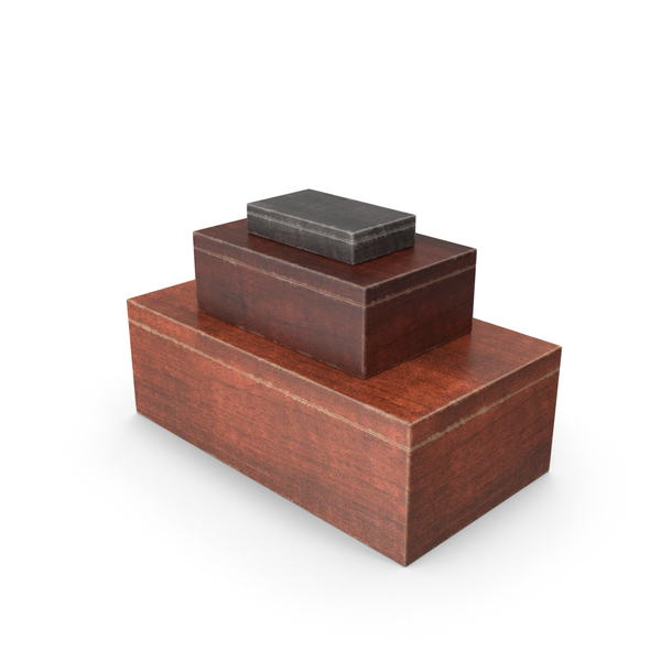 Wooden Boxes Object
