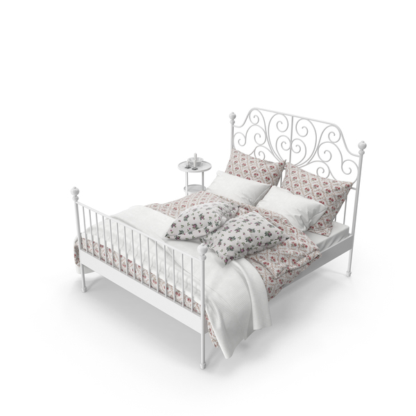 Wrought Iron Bed Set Object
