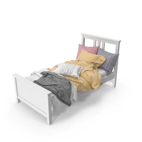 Twin Bed Object