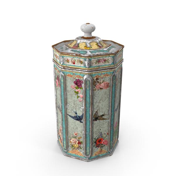 Vintage Kitchen Tin Object