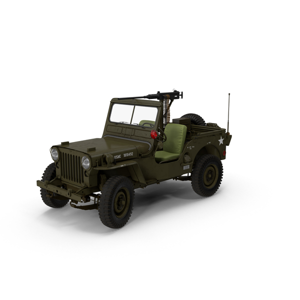 Military Jeep Object