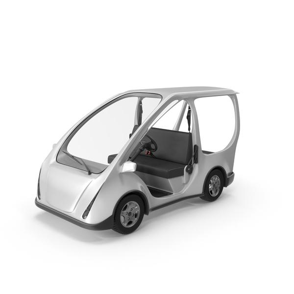 Electric Golf Car Object
