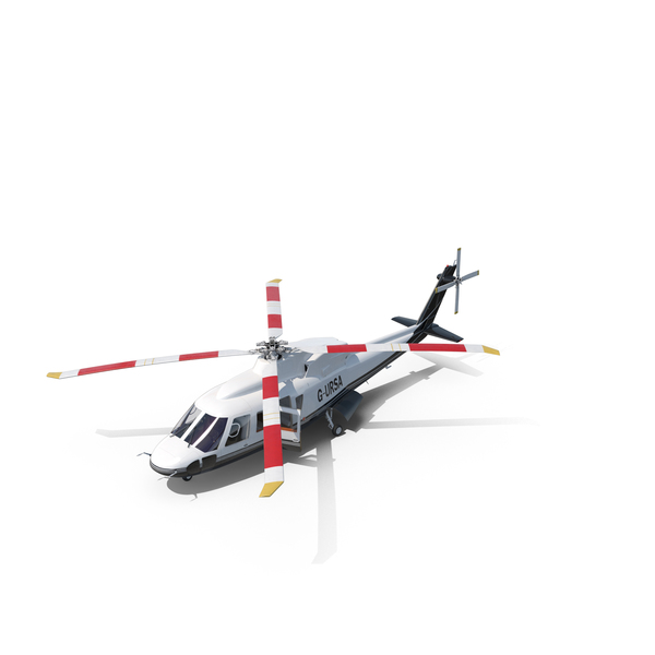 Utility Helicopter Sikorsky s76 Object