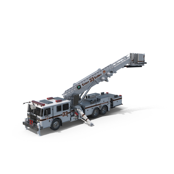 Seagrave Fire Truck Object