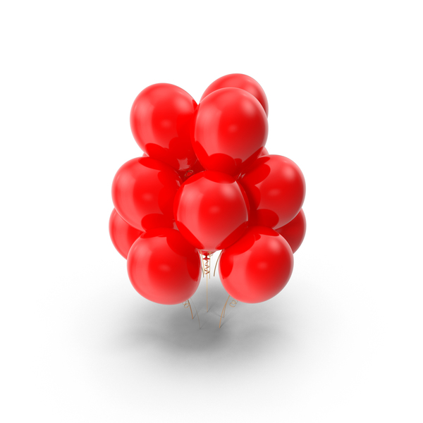 Red Balloons Object