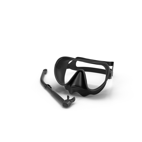 Scuba Mask and Snorkel Object