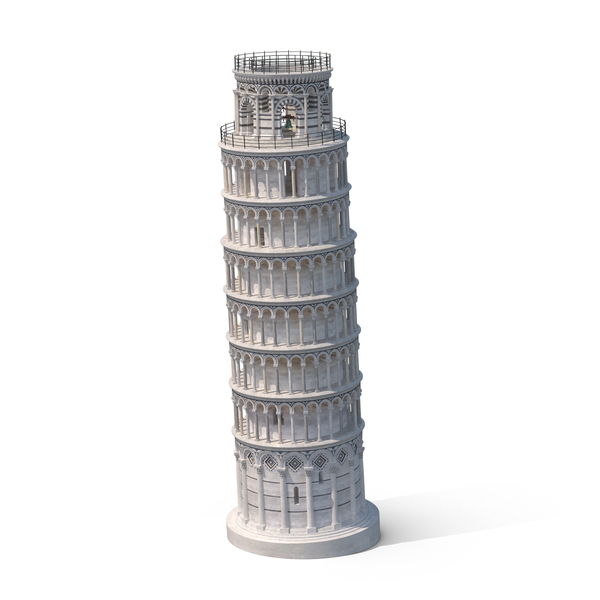 Leaning Tower of Pisa Object