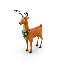 Cartoon Reindeer Object