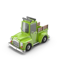 Cartoon Truck Object